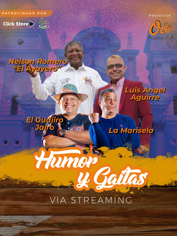 HUMOR Y GAITA Vía Streaming